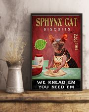 Sphynx Cat We Knead Em 24x36 Poster lifestyle-poster-3