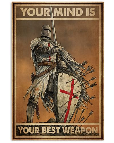 Templar Knight Your Mind Is Your Best Weapon