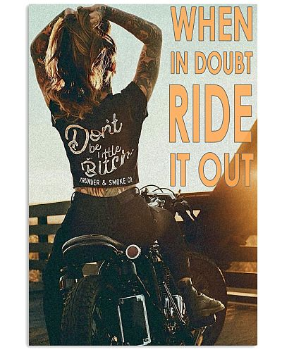 Motorcycle Girl Ride It Out