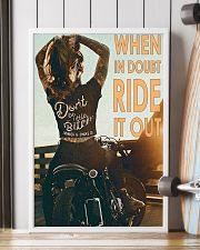 Motorcycle Girl Ride It Out  24x36 Poster lifestyle-poster-4