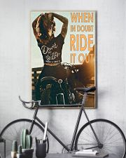Motorcycle Girl Ride It Out  24x36 Poster lifestyle-poster-7