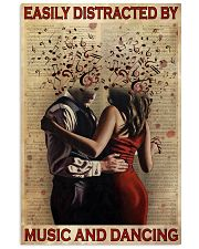 Distracted By Music And Dancing 24x36 Poster front