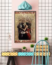 Distracted By Music And Dancing 24x36 Poster lifestyle-poster-6