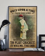 Cricket Boy Once Upon A Time 24x36 Poster lifestyle-poster-2