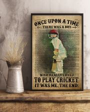 Cricket Boy Once Upon A Time 24x36 Poster lifestyle-poster-3