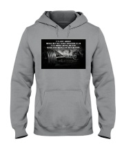 Barbell It's Not About Hooded Sweatshirt tile