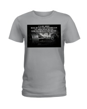 Barbell It's Not About Ladies T-Shirt tile