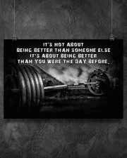 Barbell It's Not About 36x24 Poster aos-poster-landscape-36x24-lifestyle-11