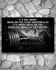 Barbell It's Not About 36x24 Poster aos-poster-landscape-36x24-lifestyle-12
