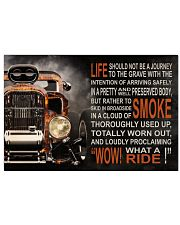 Hot Rod Fire What A Ride  36x24 Poster front