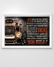 Hot Rod Fire What A Ride  36x24 Poster poster-landscape-36x24-lifestyle-02