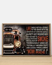 Hot Rod Fire What A Ride  36x24 Poster poster-landscape-36x24-lifestyle-03