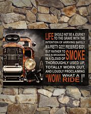 Hot Rod Fire What A Ride  36x24 Poster poster-landscape-36x24-lifestyle-15
