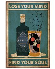 Gin Lose Your Mind 24x36 Poster front