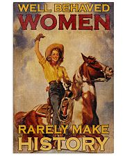 Horse Women Making History 24x36 Poster front