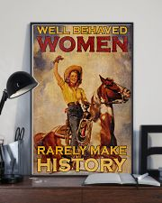 Horse Women Making History 24x36 Poster lifestyle-poster-2