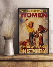 Horse Women Making History 24x36 Poster lifestyle-poster-3
