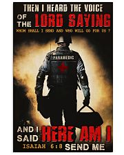 Paramedic Lord Send Me 24x36 Poster front