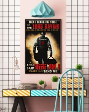 Paramedic Lord Send Me 24x36 Poster lifestyle-poster-6