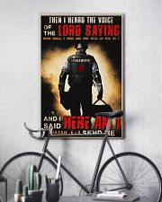 Paramedic Lord Send Me 24x36 Poster lifestyle-poster-7