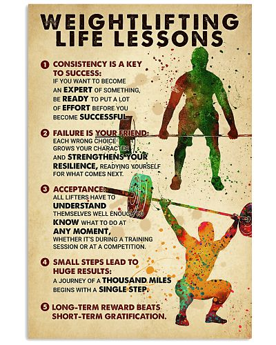 Weightlifting Life Lessons