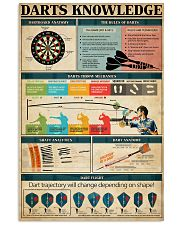 Darts Knowledge 24x36 Poster front