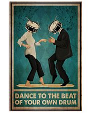Pulp Fiction Dance To The Beat Of Your Own Drum Vertical Poster tile