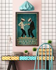 Pulp Fiction Dance To The Beat Of Your Own Drum 24x36 Poster lifestyle-poster-6