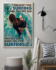 You Don't Stop Surfing 24x36 Poster lifestyle-poster-1
