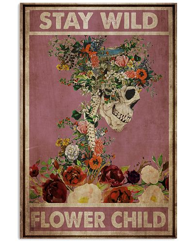 Skeleton Flower Child