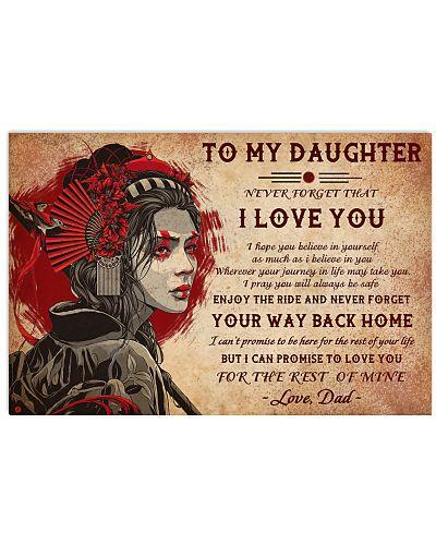 Geisha To My Daughter