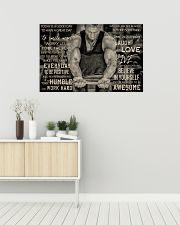Workout Man Today Is A Good Day 36x24 Poster poster-landscape-36x24-lifestyle-01