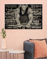Workout Man Today Is A Good Day 36x24 Poster poster-landscape-36x24-lifestyle-18
