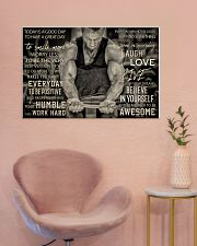 Workout Man Today Is A Good Day 36x24 Poster poster-landscape-36x24-lifestyle-19