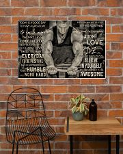 Workout Man Today Is A Good Day 36x24 Poster poster-landscape-36x24-lifestyle-20