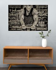 Workout Man Today Is A Good Day 36x24 Poster poster-landscape-36x24-lifestyle-21