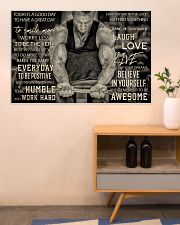 Workout Man Today Is A Good Day 36x24 Poster poster-landscape-36x24-lifestyle-22