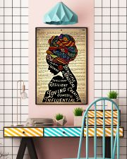 I Am Black 7 24x36 Poster lifestyle-poster-6