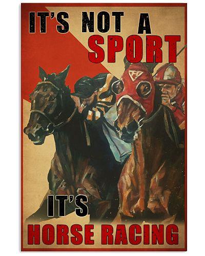 Horse Racing Not A Sport