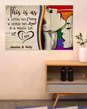 LGBT Couple This Is Us  36x24 Poster poster-landscape-36x24-lifestyle-22