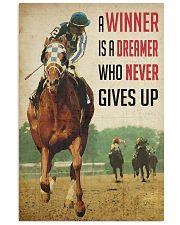 Racing Horse Winner 24x36 Poster front