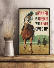Racing Horse Winner 24x36 Poster lifestyle-poster-3