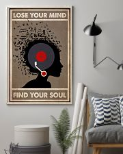 Afro Vinyl Head 24x36 Poster lifestyle-poster-1