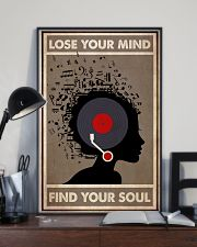 Afro Vinyl Head 24x36 Poster lifestyle-poster-2