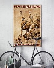 Mountaineering Skeleton Choose Something Fun 24x36 Poster lifestyle-poster-7