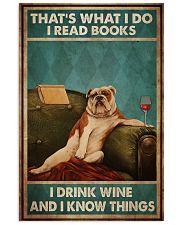 Bulldog Reading 24x36 Poster front