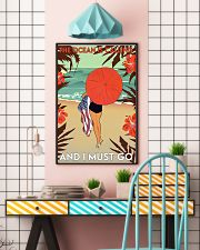 Girl The Ocean Is Calling 24x36 Poster lifestyle-poster-6