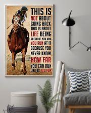 Secretariat Run Quote 24x36 Poster lifestyle-poster-1