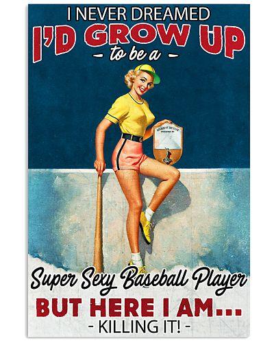Super Sexy Baseball Player