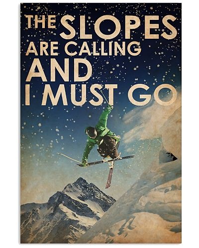Skiing Slopes Calling